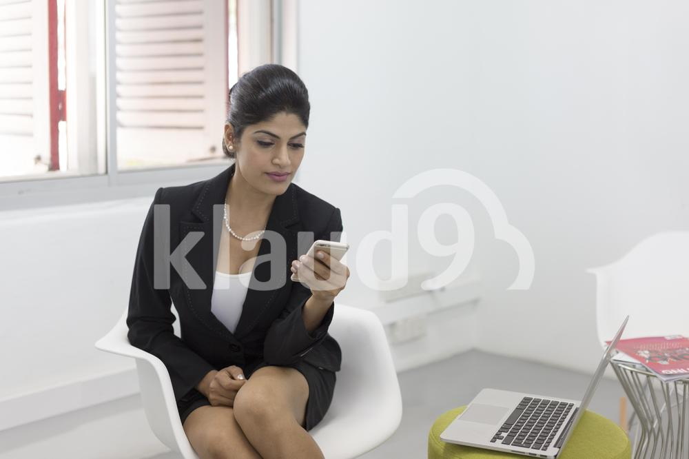 Professional woman in the office