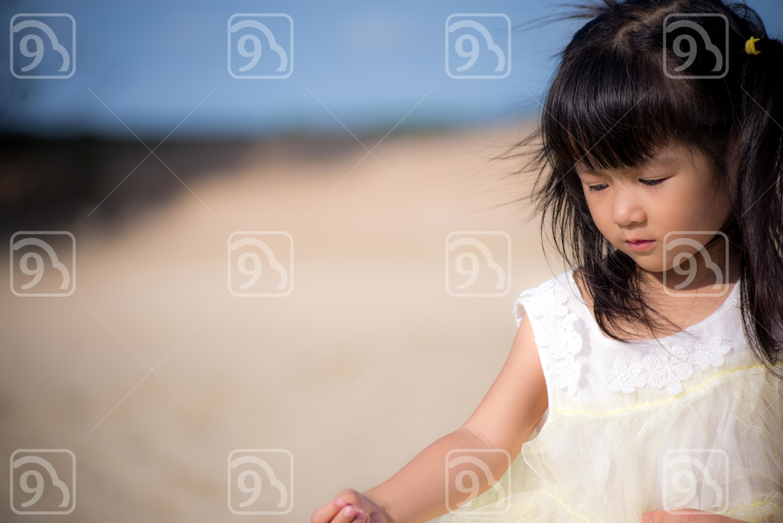 Beautiful little Asian girl