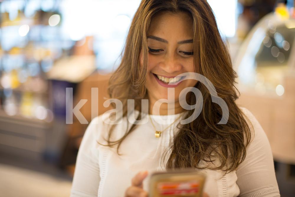 Texting happy