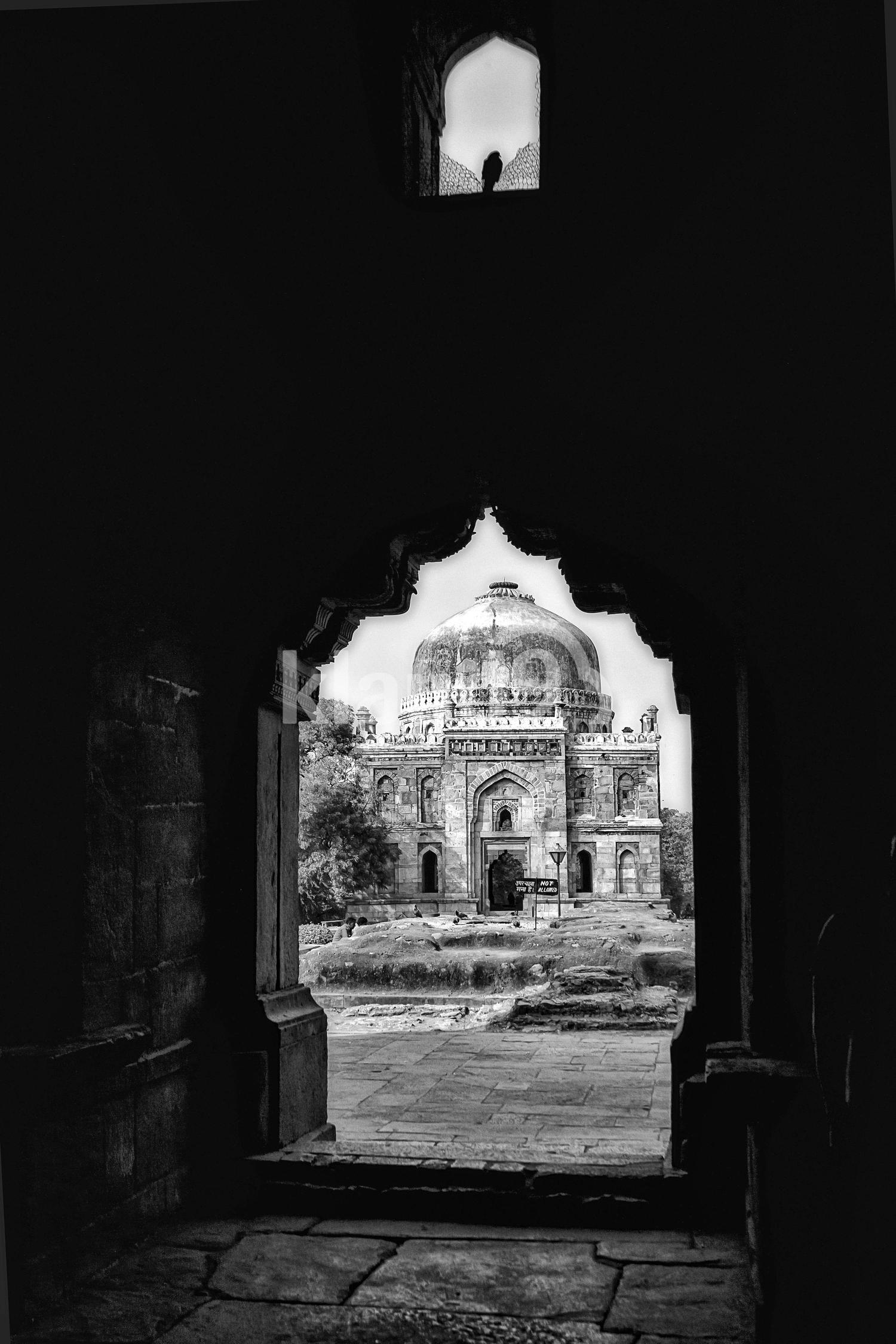 Lodhi garden, Delhi, India.