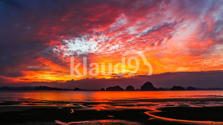 Sunset at Tubkaak Beach, Krabi TH
