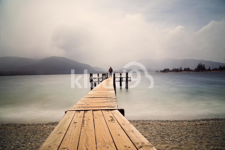 Te Anau Lake, south island NZ