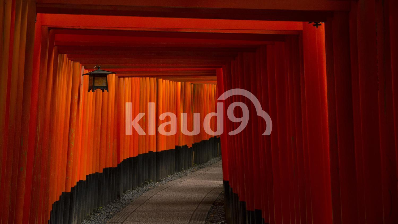 Fushimi Inari Shrine, beginning of the path.
