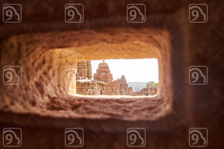 Architecture through a hole