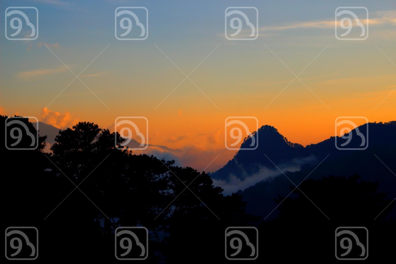 Dusk over the Mountain