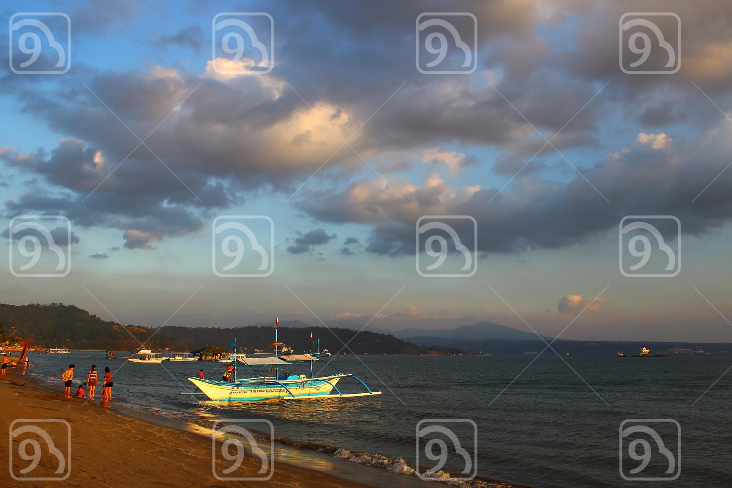 Beach at Subic, Philippines