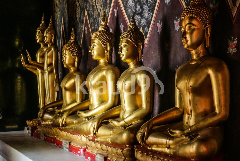Buddha Sculptures - Wat Phra Si Rattana Mahathat