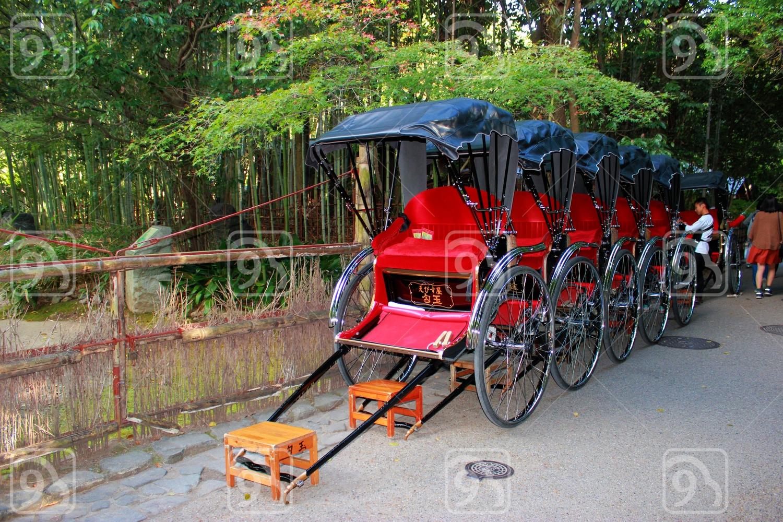 Rickshaw waiting for hire