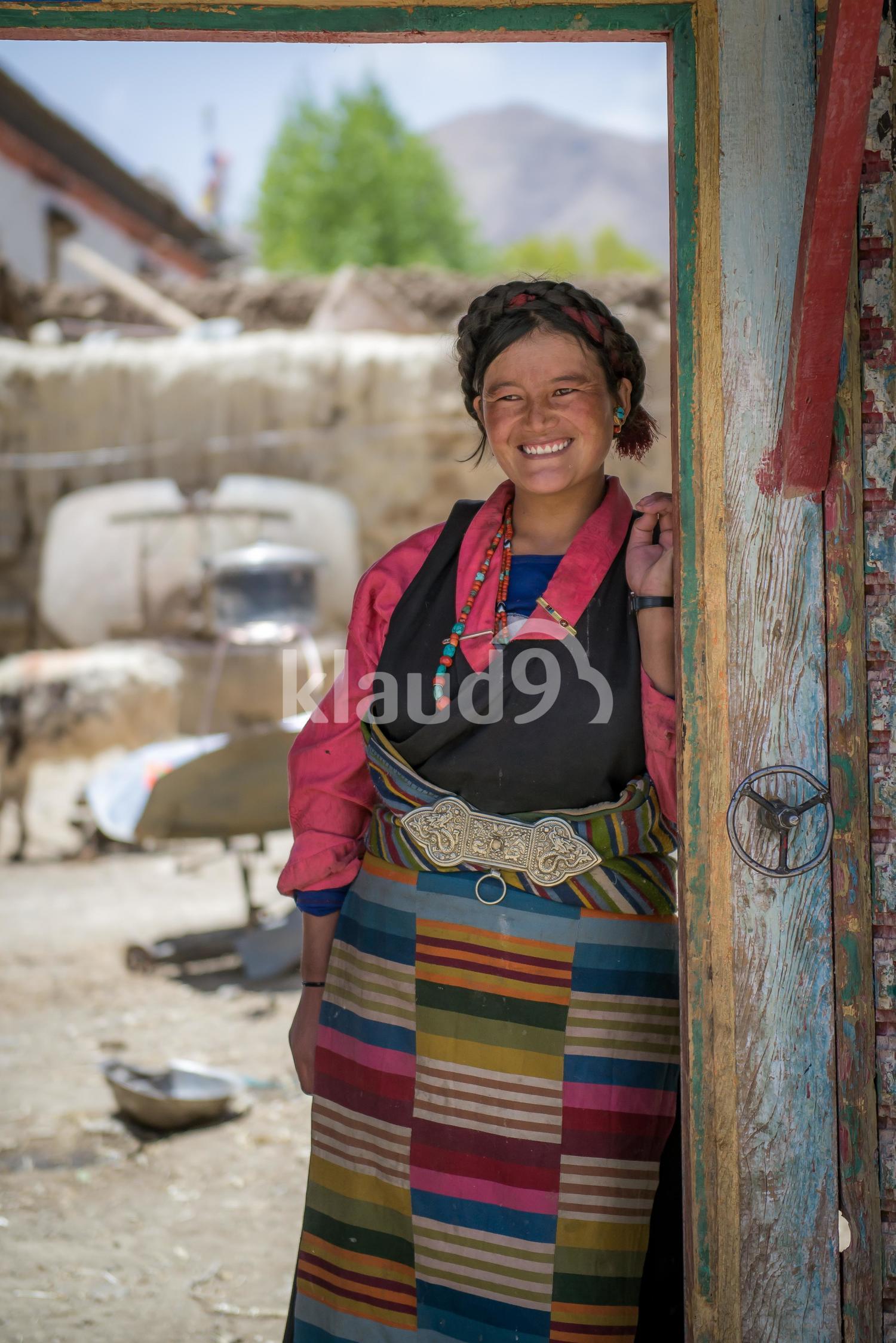 Simple Tibetan Smile