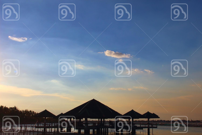 Huts at Sea