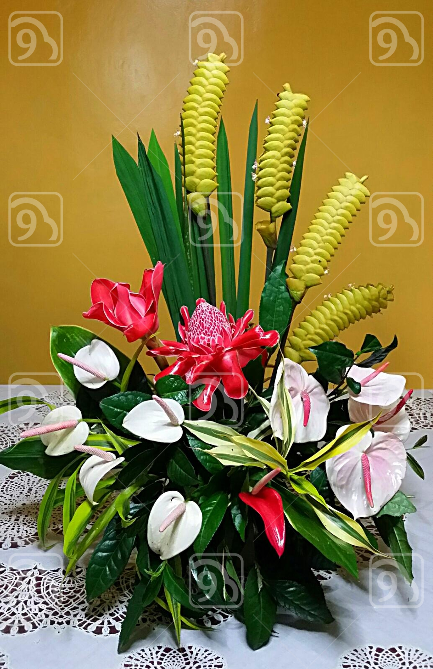 Tropical Flower Arrangement