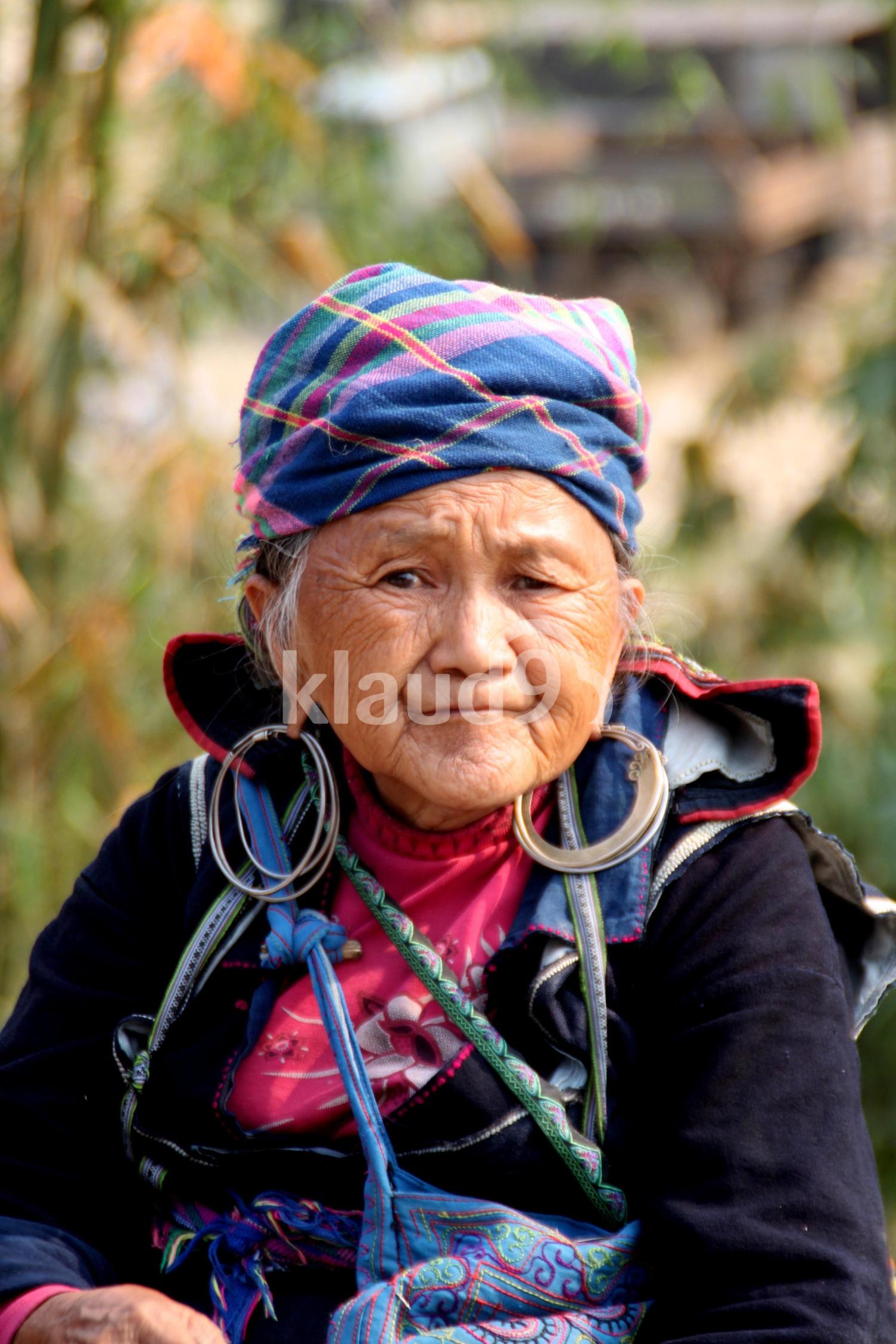 Colourful Lady in Sapa