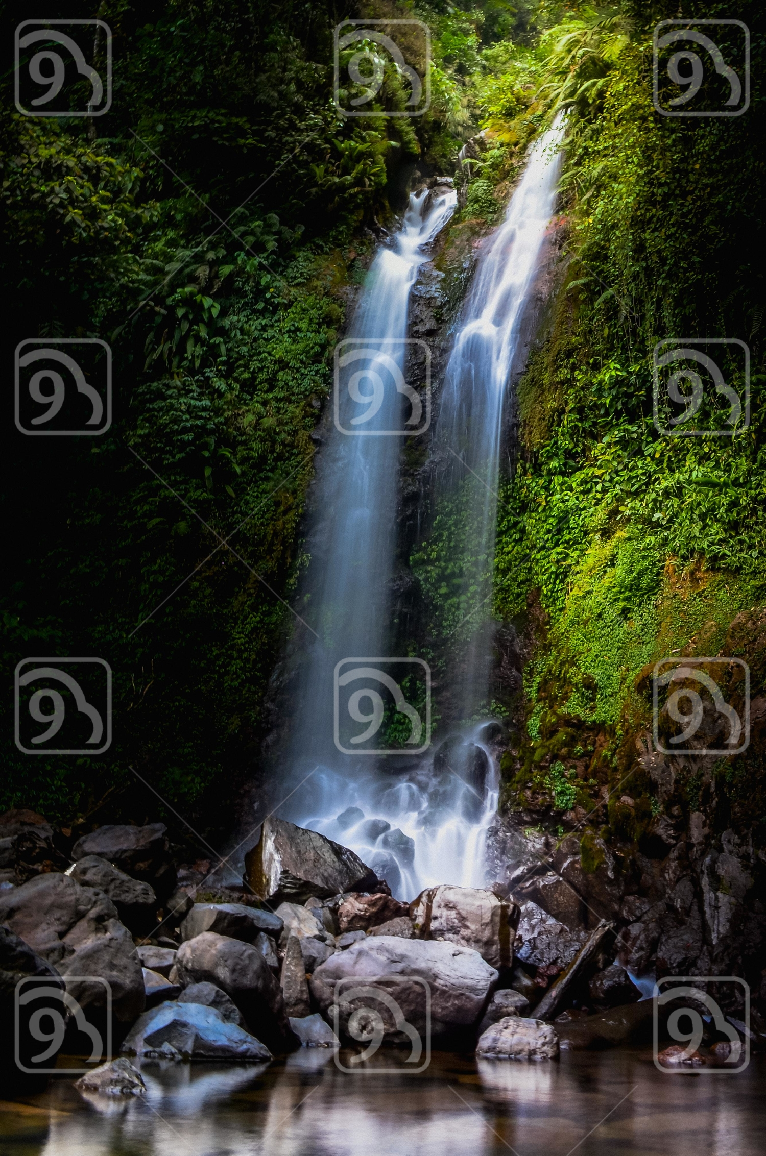 Ciherang waterfall