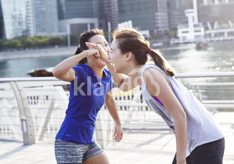 Bonding over exercise