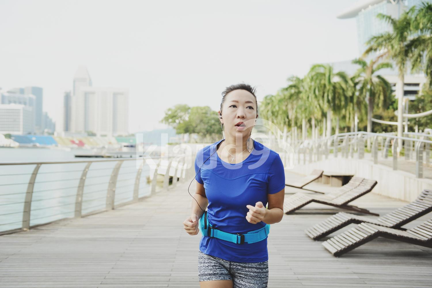 Working Out at Marina Bay Sands