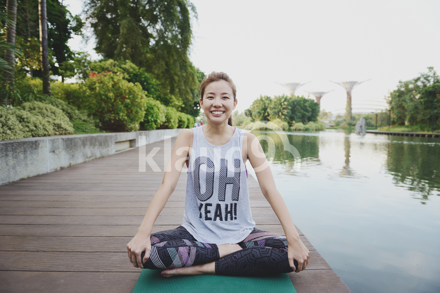 Happy Yoga Enthusiast
