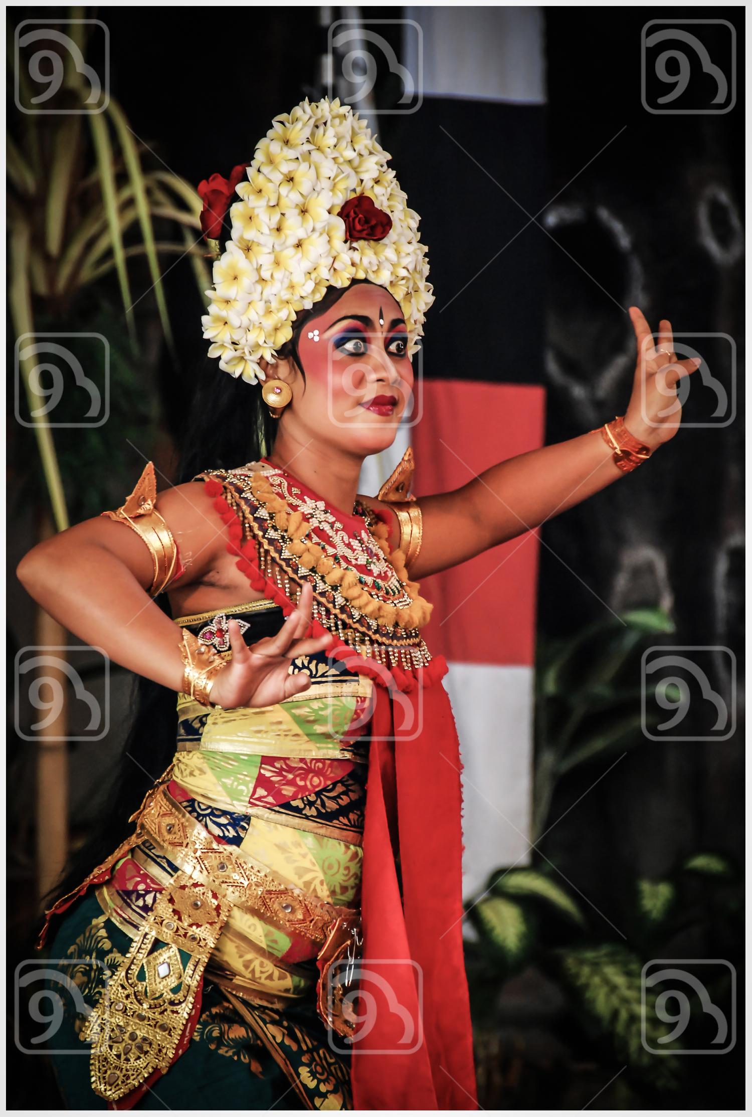 Balinese Barong Dancer