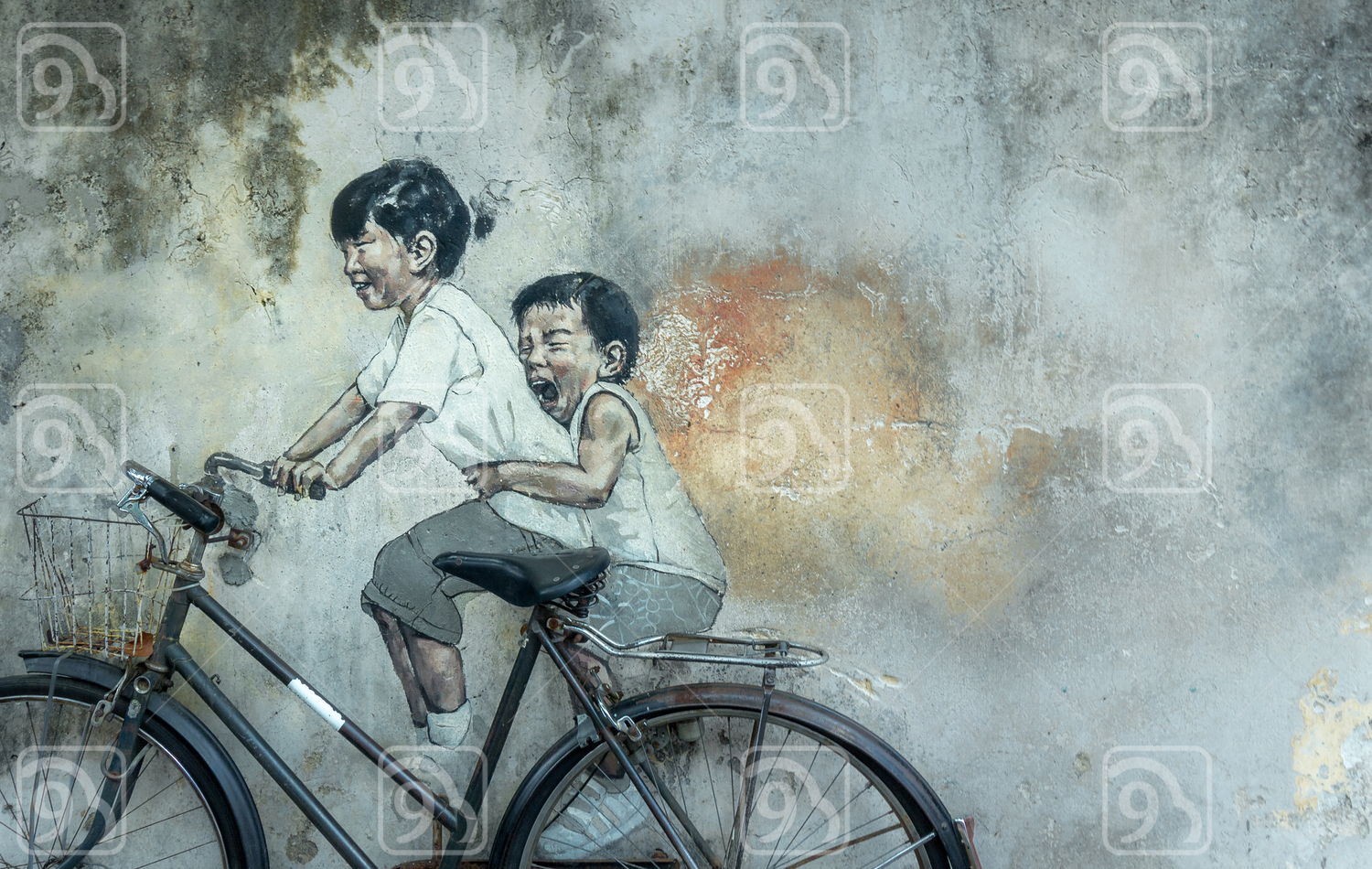 Kids on the Bike