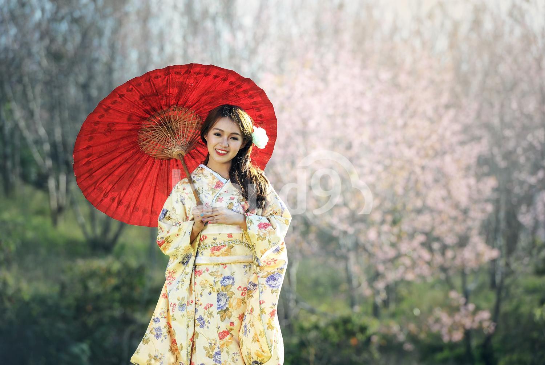 Traditional japanese kimono