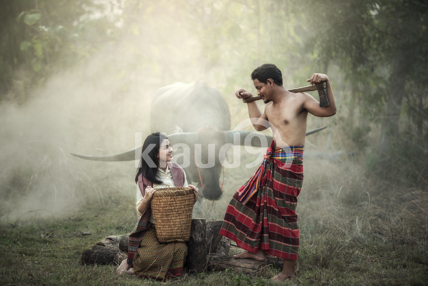 Couple farmer in Thailand