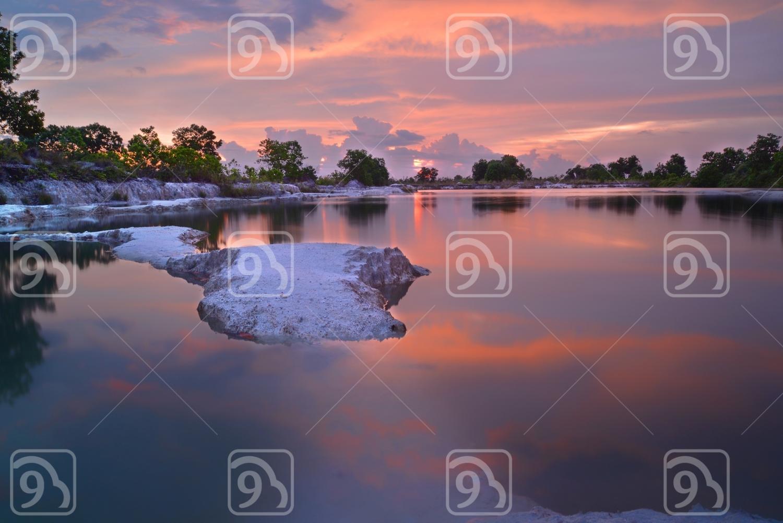 Sunset at borneo