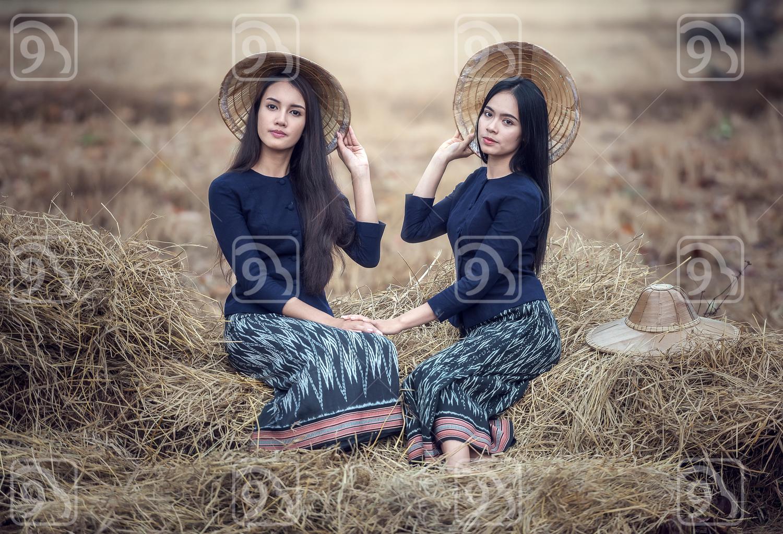 Thai local woman