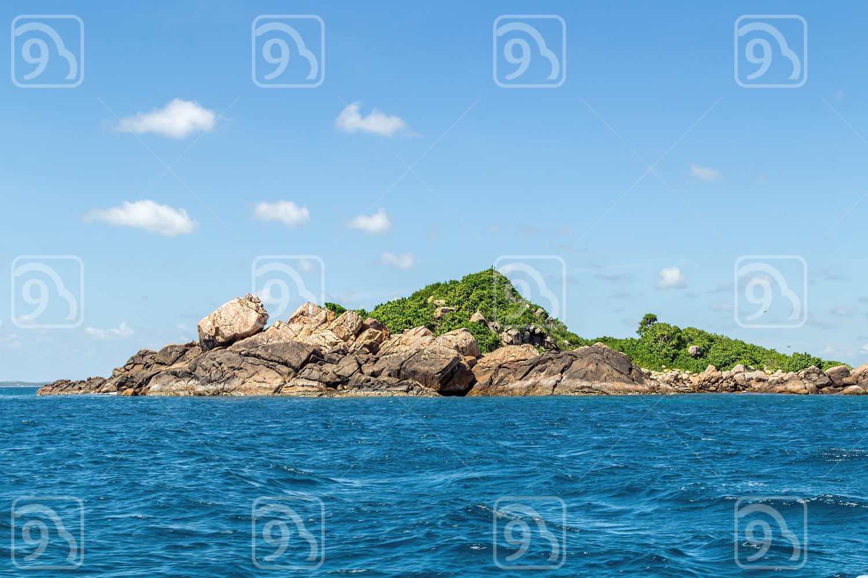 Island in the Indian Ocean. Sri Lanka