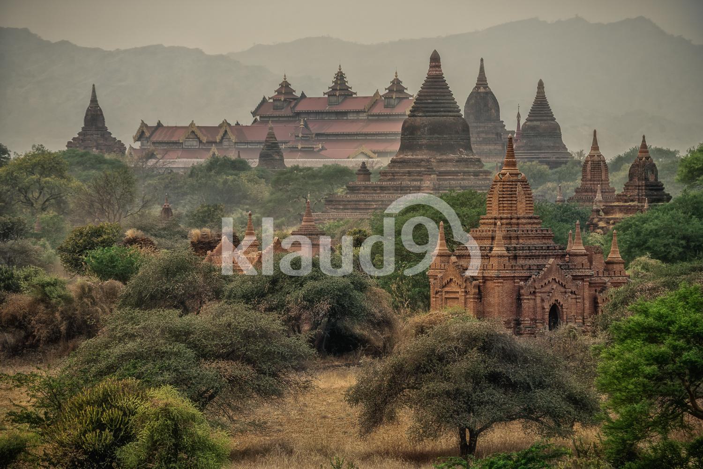 Ancient Temples in Bagan