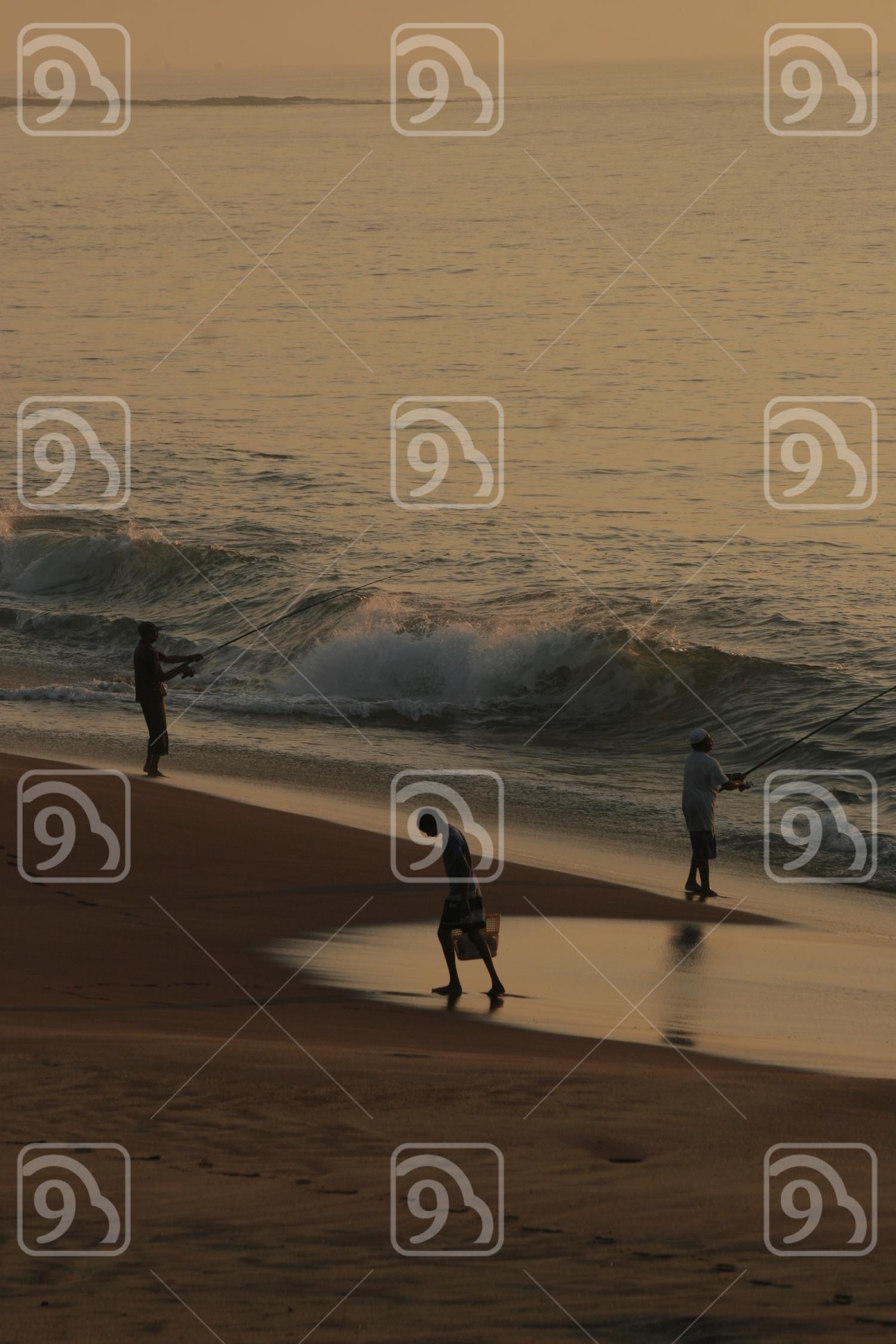 Fishing in Hambantota, Southern of Sri Lanka