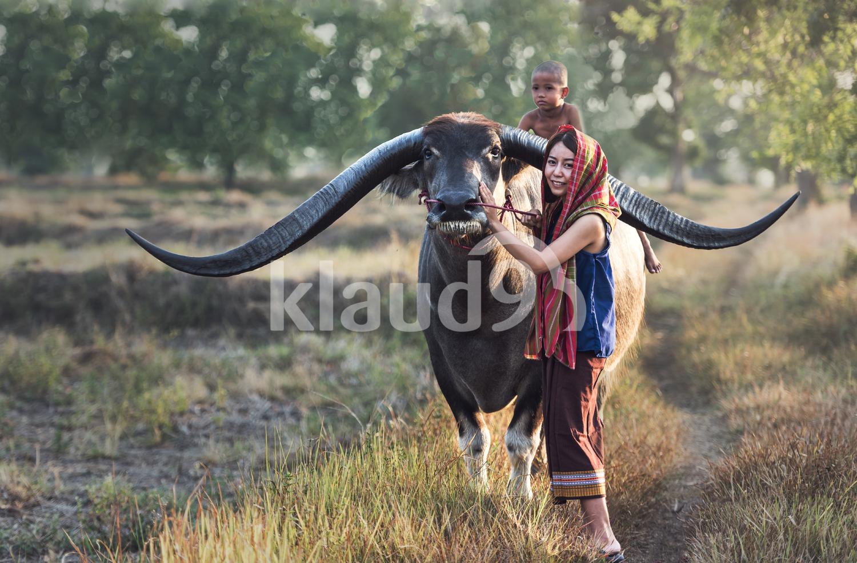 Asian woman (Thai) farmer