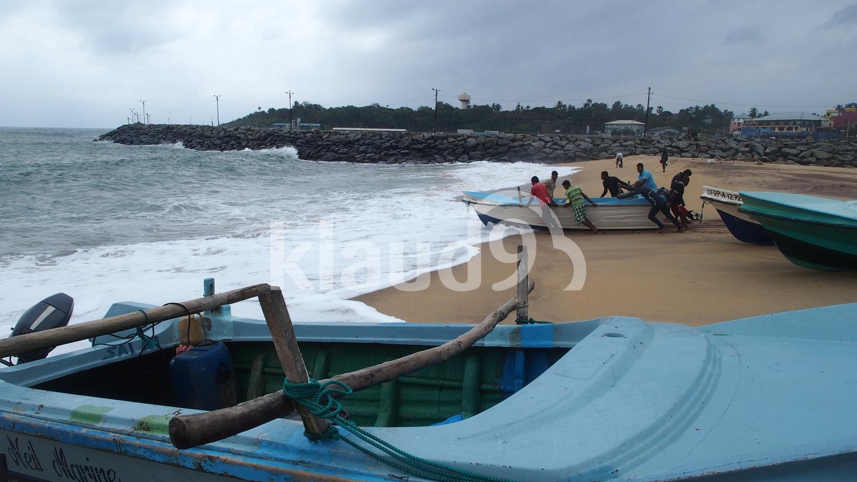 Seaside fishing village