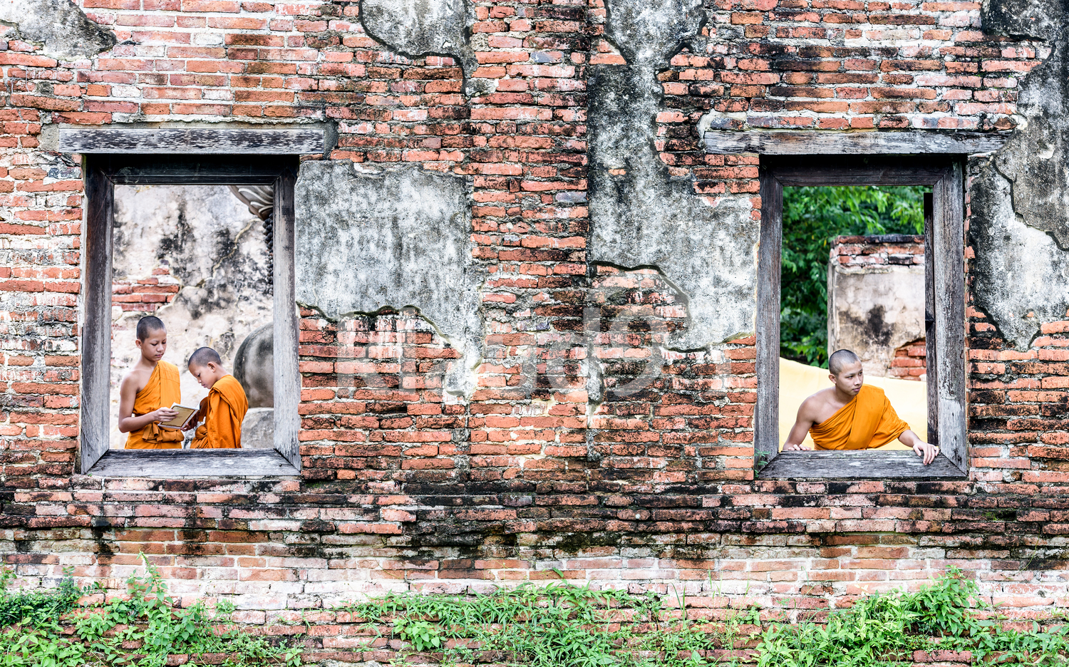 Young Monks in Thailand