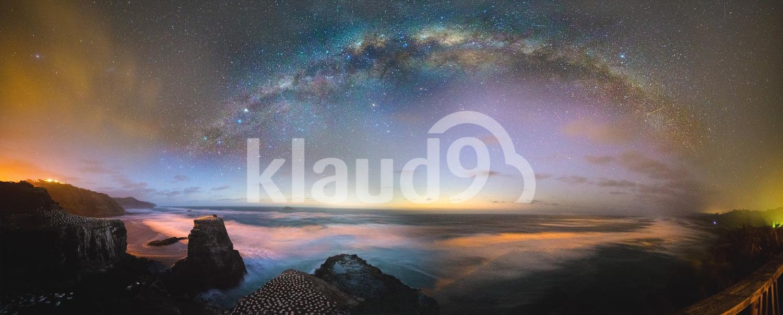 Galactic Core over Muriwai New Zealand