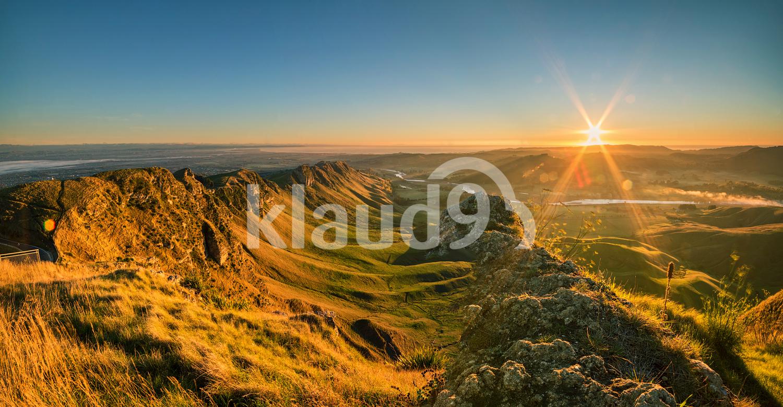Sunrise at Te Mata Peak, Napier, Hawkes Bay