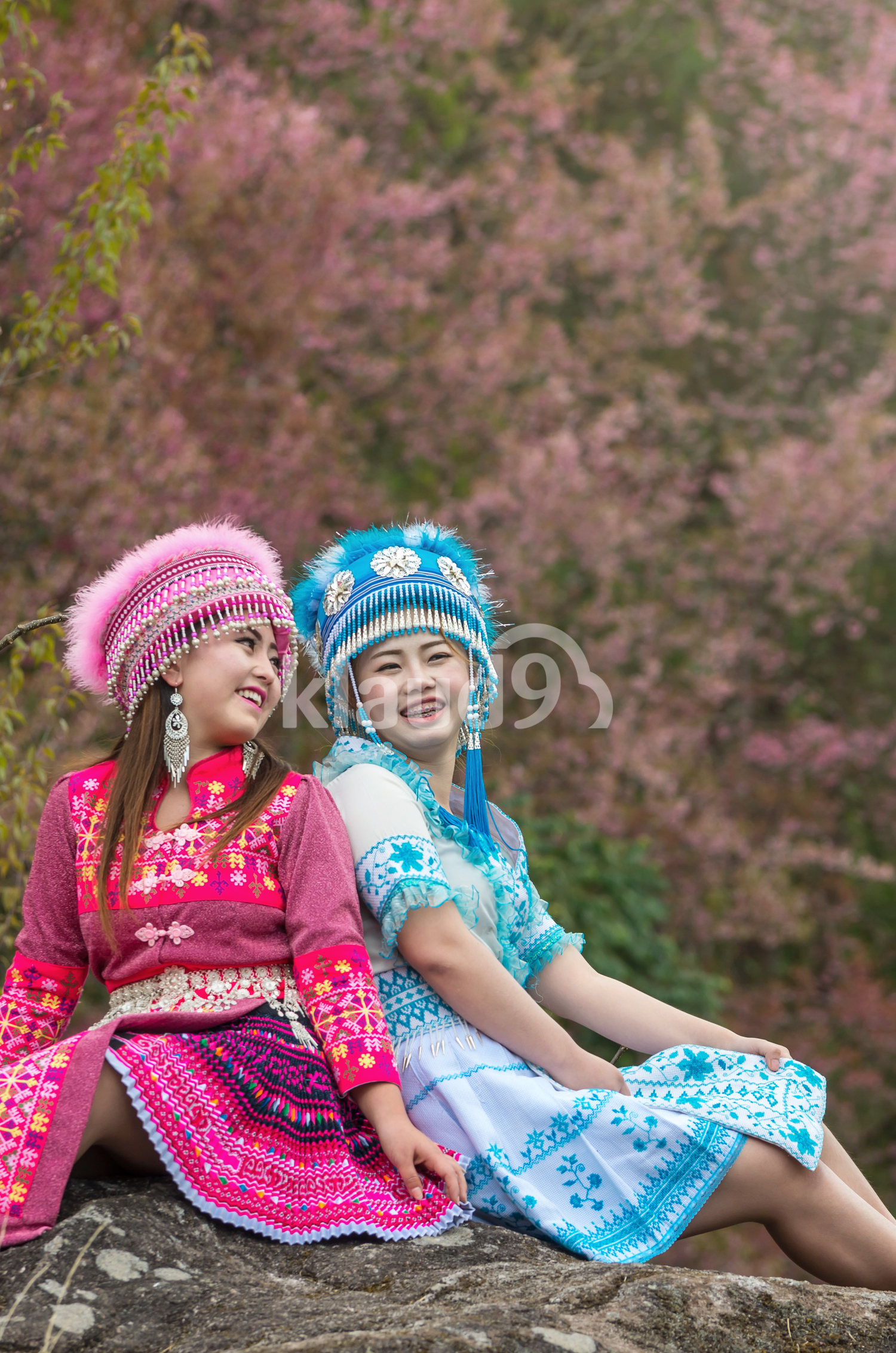Two Hmong Ladies