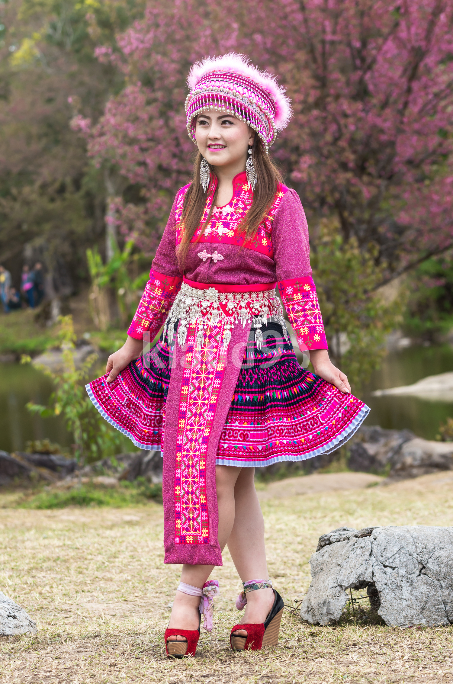 Portrait of Hmong girl