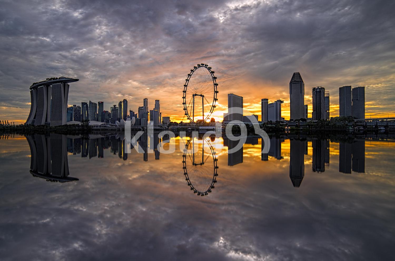 Singapore Iconic Skyline