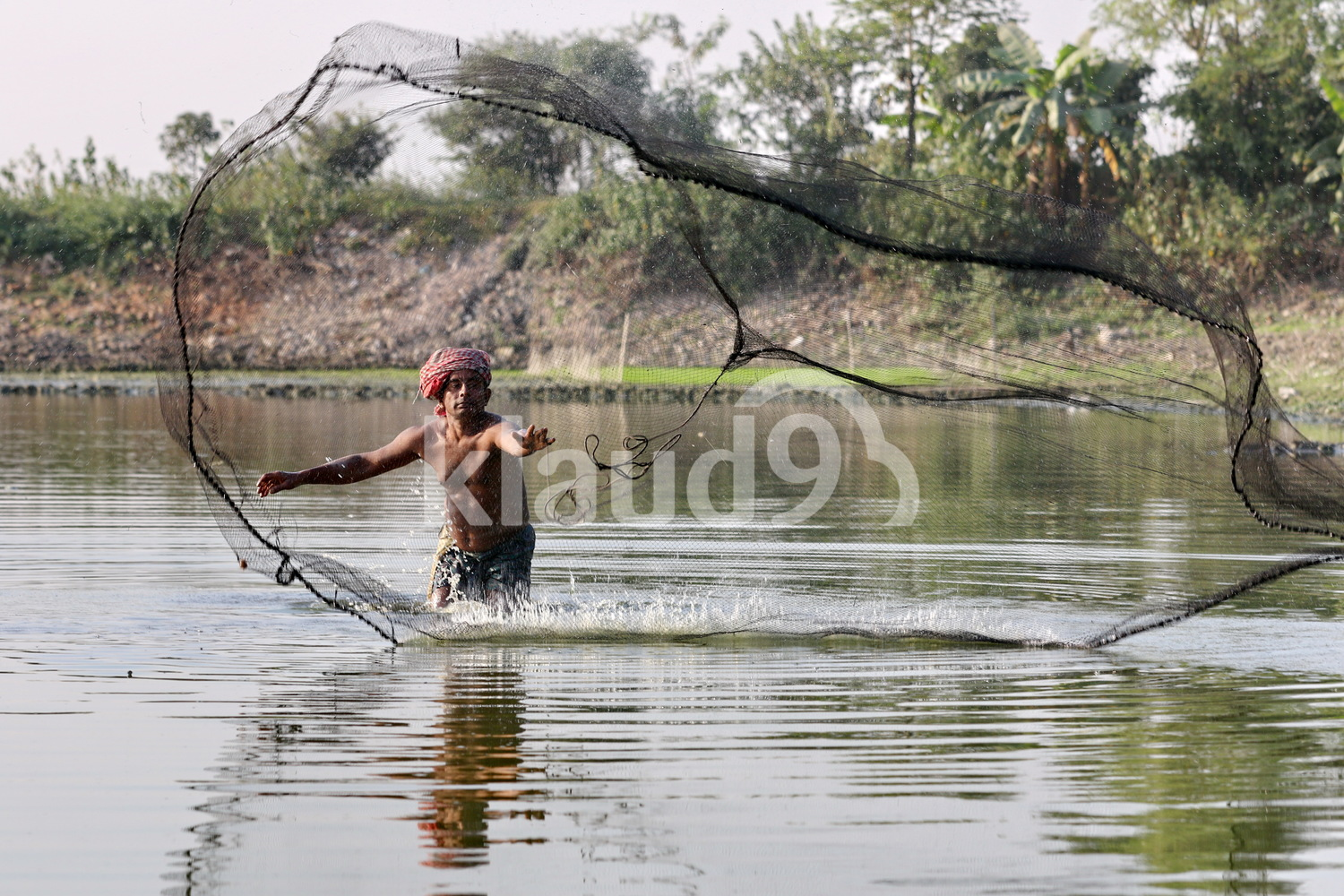 Fishing in Dhaka