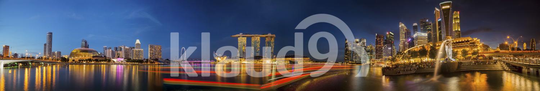 The Vibrant Singapore city