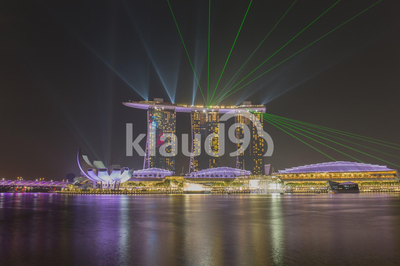 Lasershow Marina Bay Sands