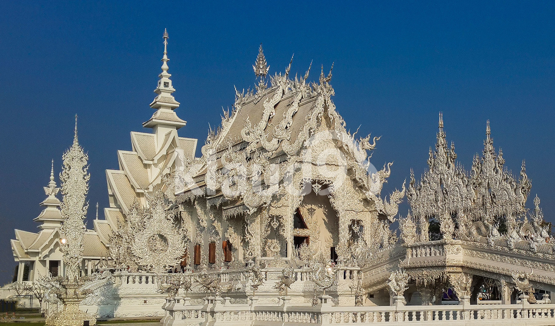 Wat Rong Khun - White Temple of Chiang Rai