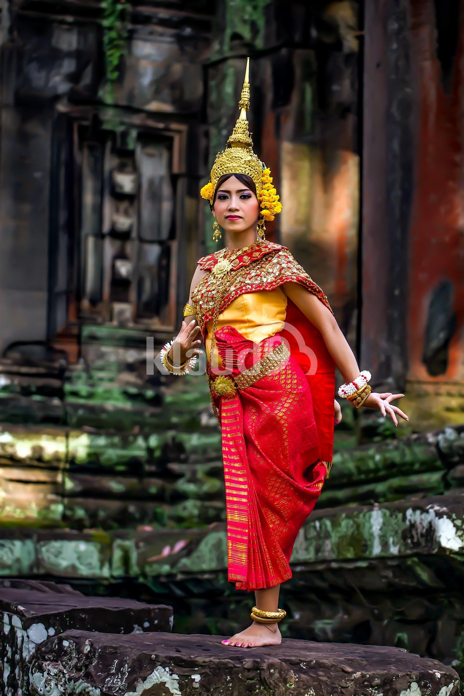 Apsara Dancer; Siem Reap, Cambodia