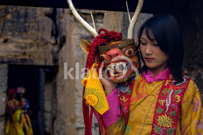 Bhutanese mask dance