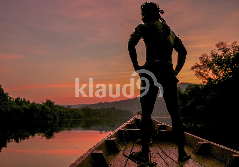 Sunset at Tatai River; Cambodia