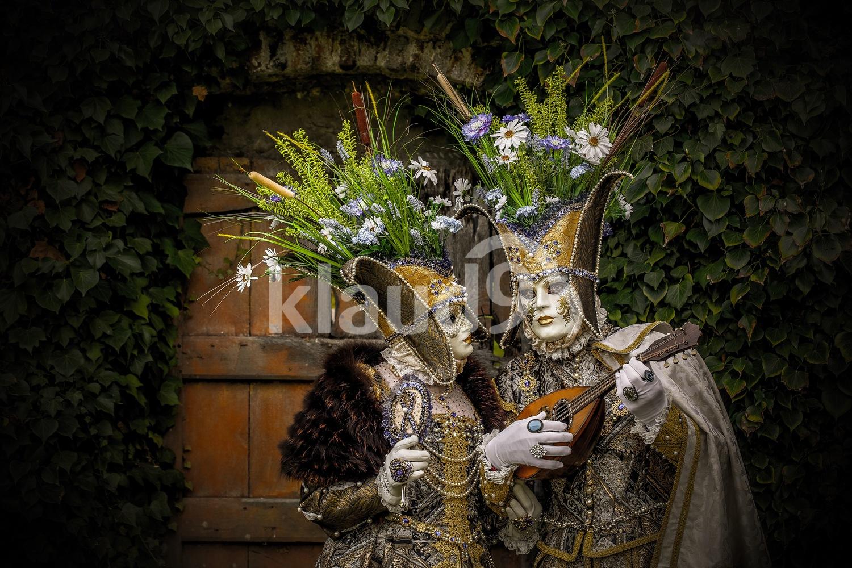 Annevoie Venetian Carnevale; Namur, Belgium