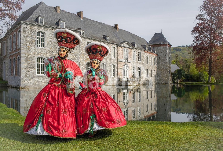 Annevoie Castle; Namur, Belgium