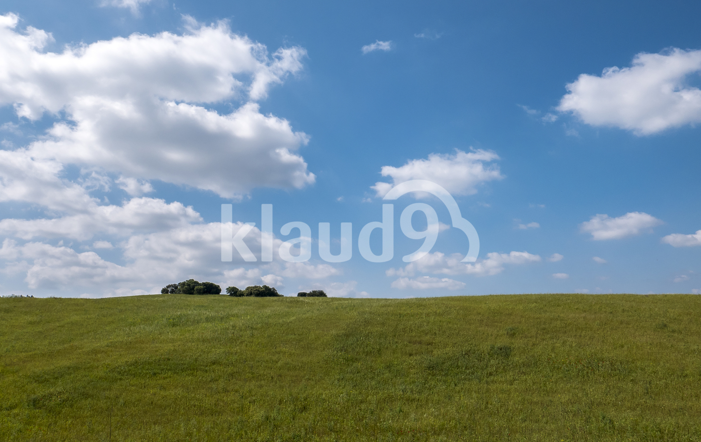 Beautiful blue landscape