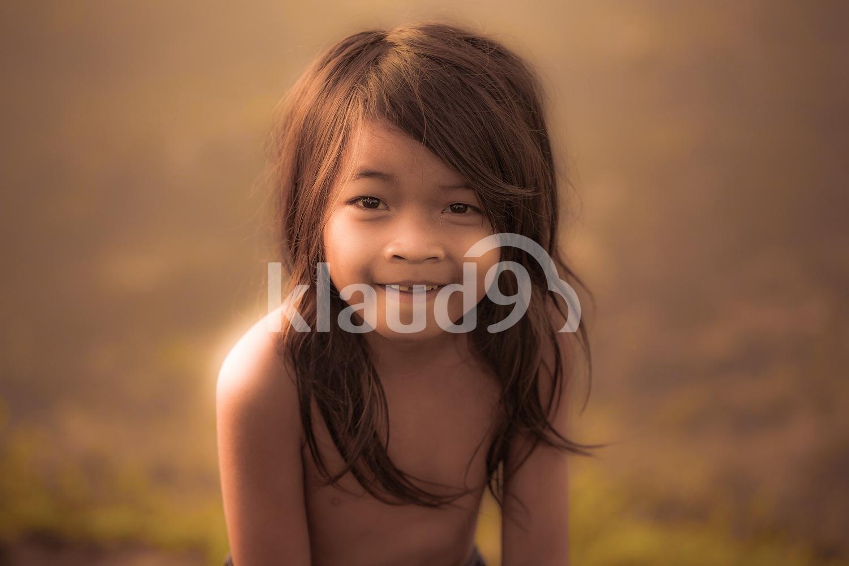 A child in Cambodia