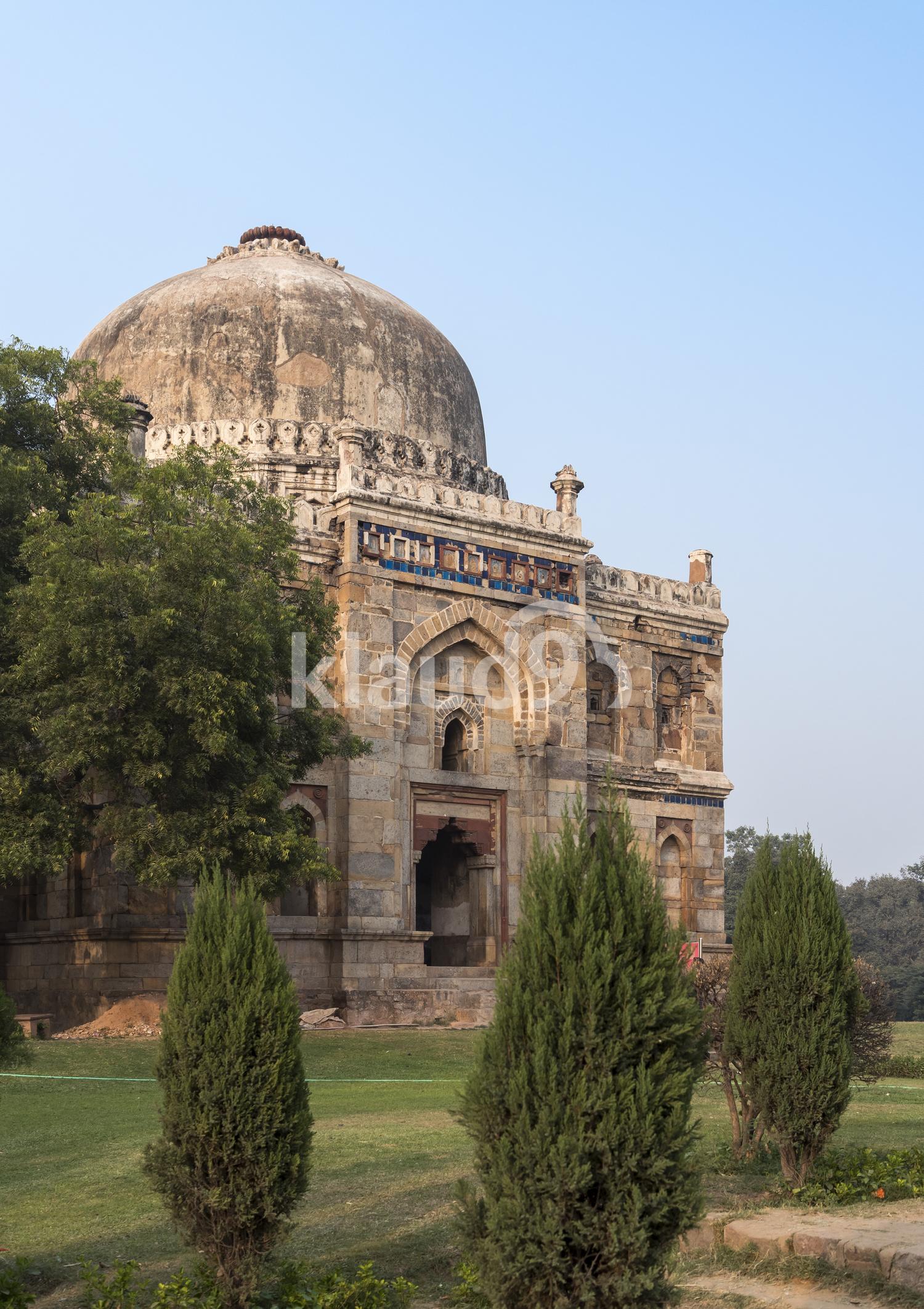 Shisha Gumbad, Lodi Garden, Delhi