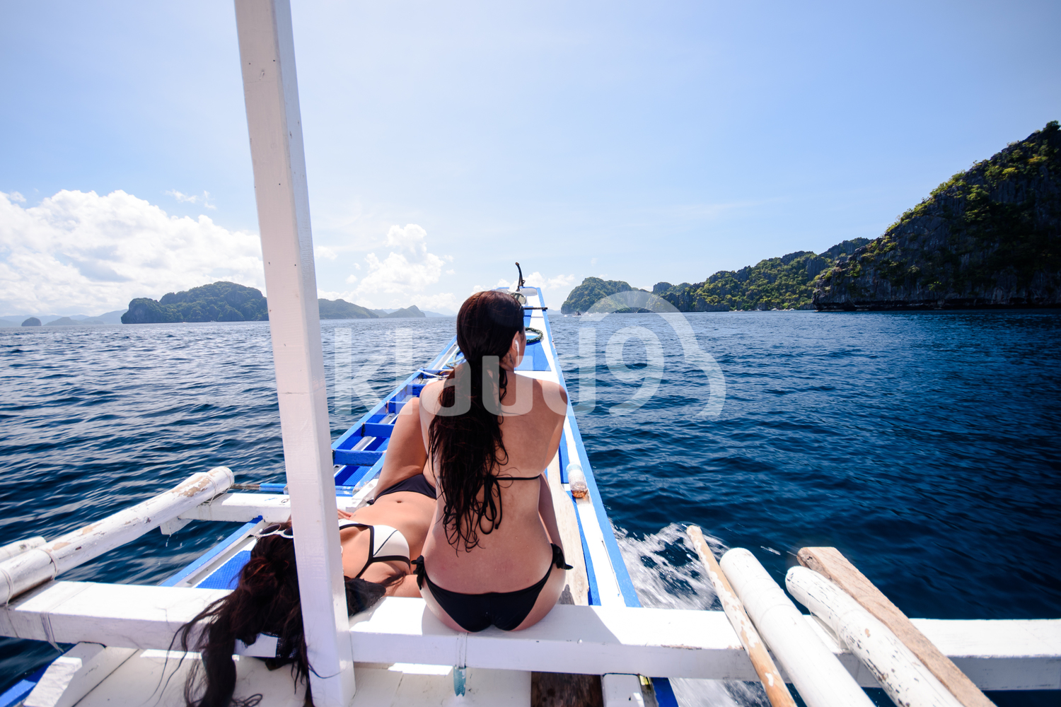 Heading for an island adventure on El Nido, Palawan